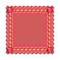 8red jewel frame