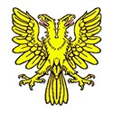 Double headed eagle yellow