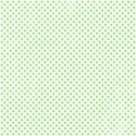 green polka dot paper