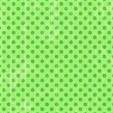 6 x 6 green on green polka dot