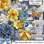Blue Jeans & Roses Kit