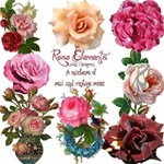 Rose Elements - add to any project.Free