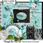 HUGE! Forget Me Not Kit! Beautiful Clusters