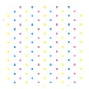 square paper dot multi