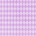 accent purple harlequin