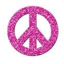 peace glitter