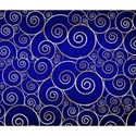 deep purple swirl background