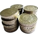 money pound coins