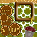 green brown bday