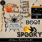 Halloween Word Art #2