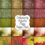 Embracing Autumn Mega Paper Pack