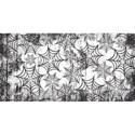 half sheet spider web paper
