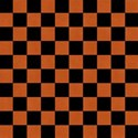 checkers orange