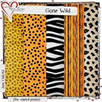 Gone Wild Animal Print Papers