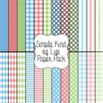 Simple Kind Of Life Paper Pack