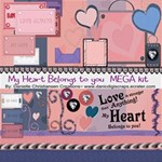 My Heart Belongs to you-Super Mega kit!