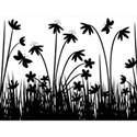 black_and_white_vector_flowers_wallpaper-t2
