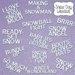 Snow Day Wordart