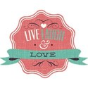 Live Laugh and Love Tag