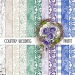 Country Wedding Extra Papers Prints
