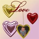 Heart Locket Frame
