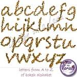 Bokeh Alphabet