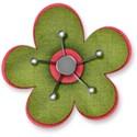 Flower B Green