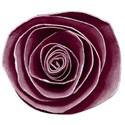 flower 1 burgandy