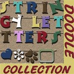 Stringy Letters - Doodle Collection