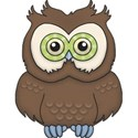 CK5e Owl Brown ScrapGraphicsDotCom