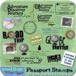 TRAVEL WORDART