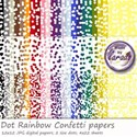DotsRainbowConfettiPreviw