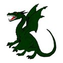 Dragon green