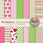 Strawberry Shortcake Inspired Papers