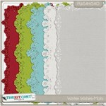 Winter Wishes Glitter Mats