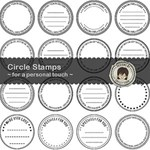 Circle Stamps ~ for a personal touch
