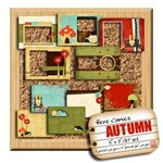 Here Comes Autumn - 7x5 Quick Page Set