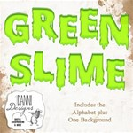 Green Slime Alphabet