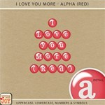I Love You More - Alpha Set 1