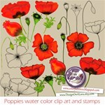 Poppies Clip Art