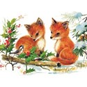 Foxes Card