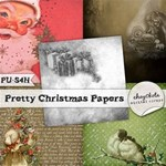 Pretty Christmas Papers FREE