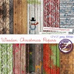 Wooden Christmas Papers