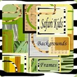 Safari Kit 2 Frames & 16 Complete Pages