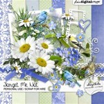 Forget Me Not ~ Memorial or Mother s Day