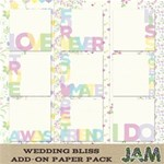 Wedding Bliss - Add On Paper Pack