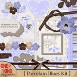 Porcelain Blues Kit