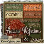 Autumn Reflections Word Art & Extras Kit