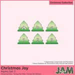 Christmas Joy - Alpha Set 3