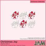 Christmas Joy - Alpha Set 4
